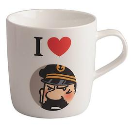 The Adventures of Tintin: The Secret of the Unicorn - I Love Captain Haddock White Mug