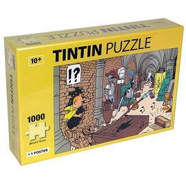The Adventures of Tintin: The Secret of the Unicorn - Treasures at Marlinspike Puzzle