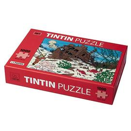 The Adventures of Tintin: The Secret of the Unicorn - Shipwreck of the Unicorn Puzzle