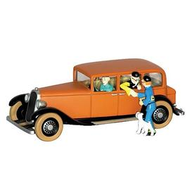 The Adventures of Tintin: The Secret of the Unicorn - Mr. Wang Chen-Yee's Car Statue