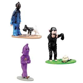 The Adventures of Tintin: The Secret of the Unicorn - Trio Painted Lead Figurine Mini-Statues