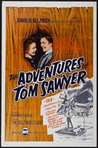 The Adventures of Tom Sawyer - 27 x 40 Movie Poster - Style A