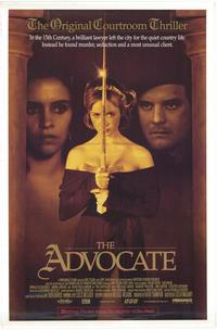 The Advocate - 43 x 62 Movie Poster - Bus Shelter Style A