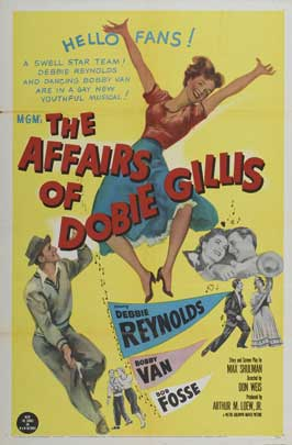The Affairs of Dobie Gillis - 11 x 17 Movie Poster - Style B