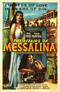 The Affairs of Messalina - 27 x 40 Movie Poster - Style A