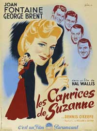 The Affairs of Susan - 11 x 17 Movie Poster - French Style A