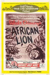 The African Lion - 11 x 17 Movie Poster - Style A