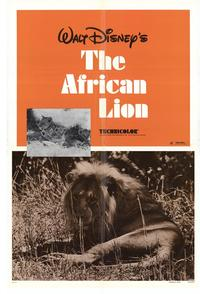 The African Lion - 27 x 40 Movie Poster - Style A