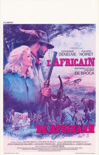 The African - 27 x 40 Movie Poster - Belgian Style A