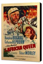 The African Queen - 11 x 17 Movie Poster - Style D - Museum Wrapped Canvas