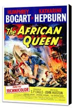The African Queen - 27 x 40 Movie Poster - Style A - Museum Wrapped Canvas