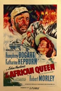 The African Queen - 11 x 17 Movie Poster - Style D