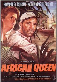 The African Queen - 11 x 17 Movie Poster - German Style A