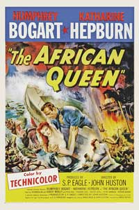 The African Queen - 27 x 40 Movie Poster - Style B
