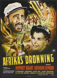 The African Queen - 27 x 40 Movie Poster - Danish Style A
