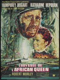 The African Queen - 27 x 40 Movie Poster - French Style B