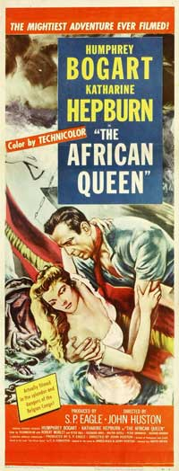 The African Queen - 14 x 36 Movie Poster - Insert Style B
