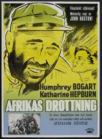 The African Queen - 27 x 40 Movie Poster - Swedish Style A