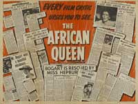 The African Queen - 30 x 40 Movie Poster - Style A