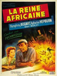 The African Queen - 27 x 40 Movie Poster - French Style A