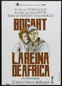 The African Queen - 27 x 40 Movie Poster - Spanish Style B