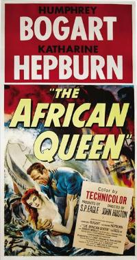The African Queen - 27 x 40 Movie Poster - Style E