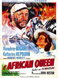 The African Queen - 11 x 17 Movie Poster - French Style C