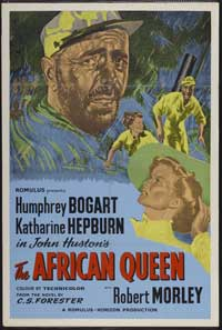 The African Queen - 27 x 40 Movie Poster - UK Style A