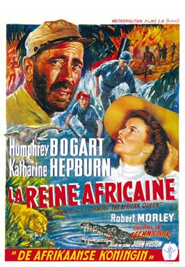 The African Queen - 11 x 17 Movie Poster - Belgian Style A