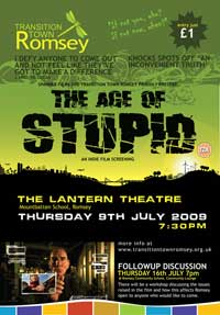 The Age of Stupid - 11 x 17 Movie Poster - UK Style B