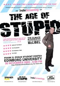 The Age of Stupid - 27 x 40 Movie Poster - UK Style B