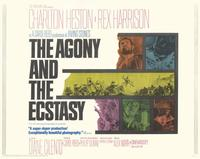 The Agony and the Ecstasy - 11 x 14 Movie Poster - Style E