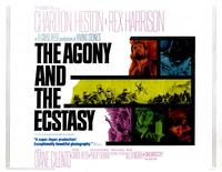 The Agony and the Ecstasy - 11 x 17 Movie Poster - Style B