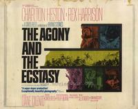 The Agony and the Ecstasy - 22 x 28 Movie Poster - Half Sheet Style A