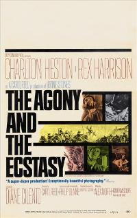 The Agony and the Ecstasy - 11 x 17 Movie Poster - Style E