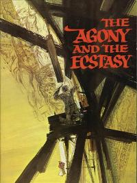 The Agony and the Ecstasy - 11 x 17 Movie Poster - Style F