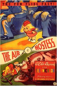 The Air Hostess - 11 x 17 Movie Poster - Style A