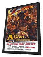 The Alamo - 11 x 17 Movie Poster - Style A - in Deluxe Wood Frame