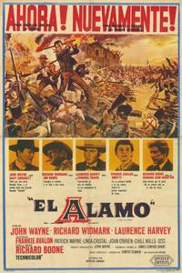The Alamo - 11 x 17 Movie Poster - Spanish Style A