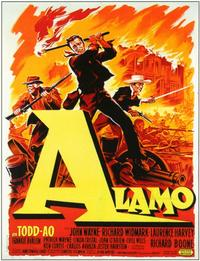 The Alamo - 11 x 17 Movie Poster - French Style A