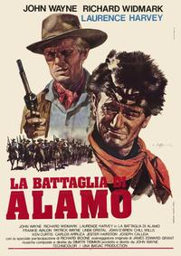 The Alamo - 11 x 17 Movie Poster - Italian Style A