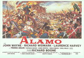 The Alamo - 14 x 22 Movie Poster - Belgian Style A