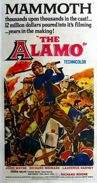 The Alamo - 11 x 17 Movie Poster - Style B