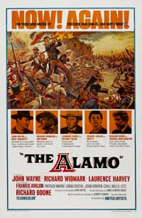 The Alamo - 43 x 62 Movie Poster - Bus Shelter Style B