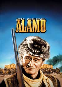 The Alamo - 11 x 17 Movie Poster - German Style A