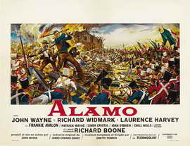 The Alamo - 22 x 28 Movie Poster - French Style A