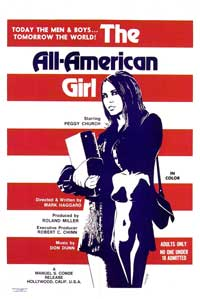 The All-American Girl - 27 x 40 Movie Poster - Style A
