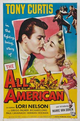All American, The - 11 x 17 Movie Poster - Style B