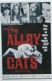 The Alley Cats - 27 x 40 Movie Poster - Style A