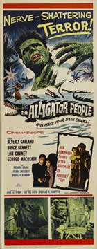 The Alligator People - 14 x 36 Movie Poster - Insert Style A